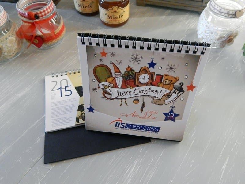 calendari cartoline Natale