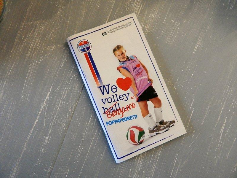 grafica stagione Volley Bergamo